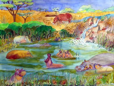 Hippopotam-i