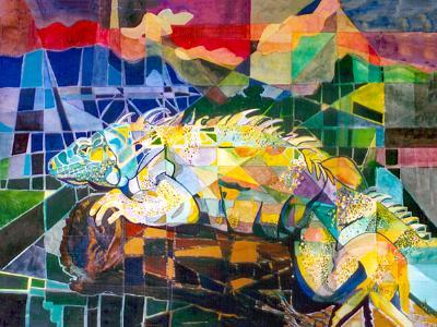 Iguana in the Wild