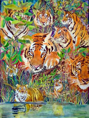 Nine Tigers