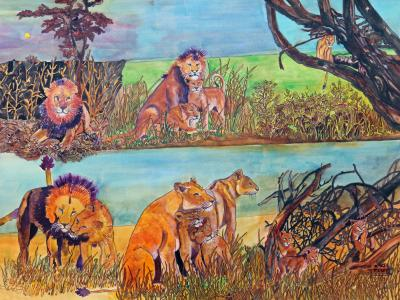 Lion Scenes
